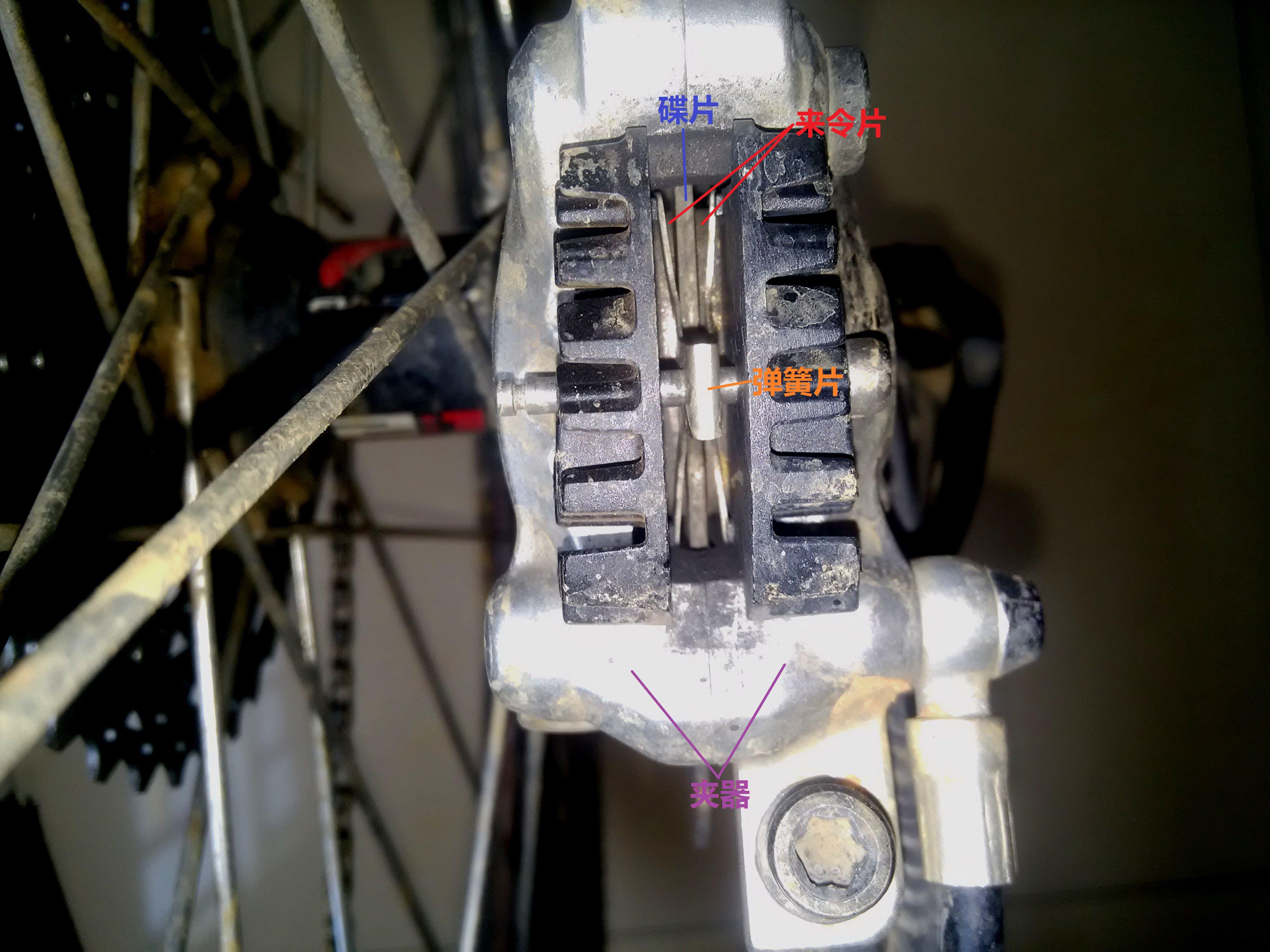 自行车油压碟刹 原理? 油我一想到的就是发动机制动