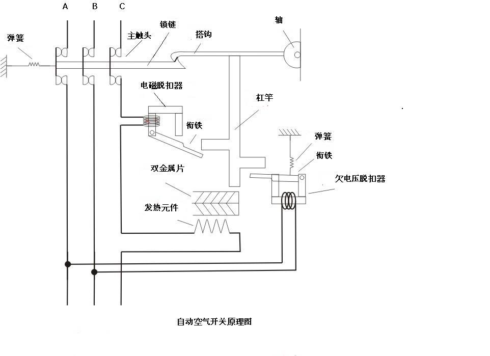 (初中科学,急)小明同学家里照明电路中,自动空气开关突然自动断开(即