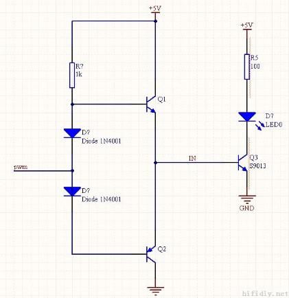 推挽电路的组成结构