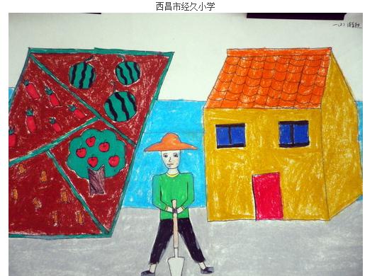 小学生手抄报(关于家乡)图画,作文的字不少于300个字