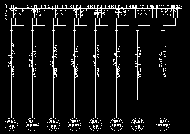 eplan端子接线图