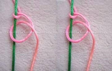 5股绳子怎么编手链