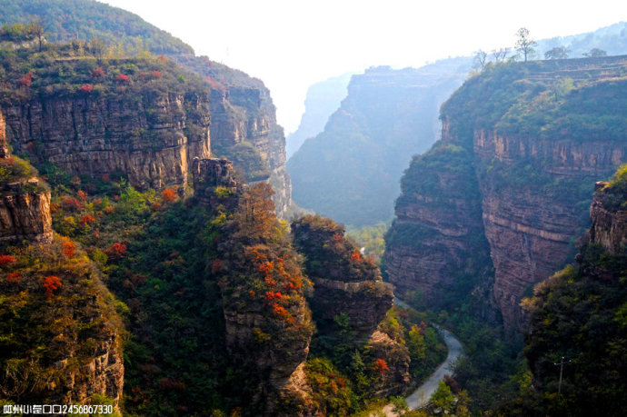 林州的风景名胜