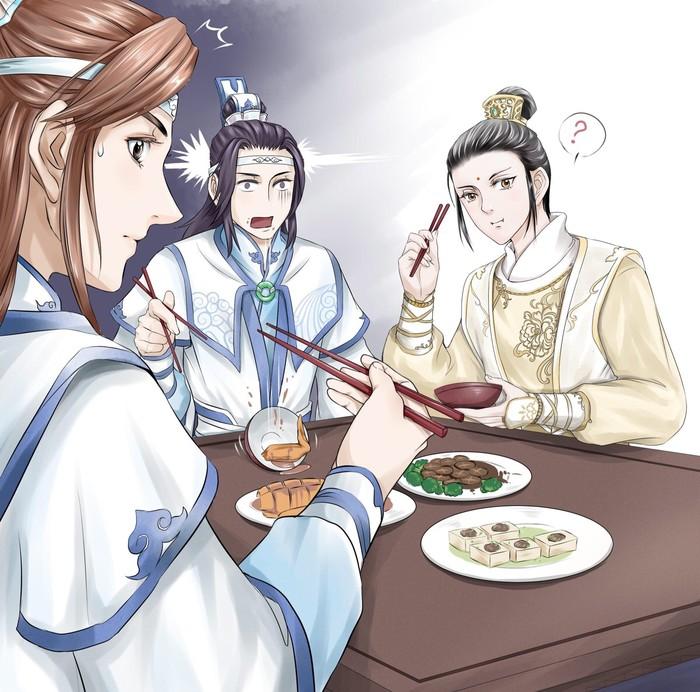 求魔道祖师漫画百度云谢谢!