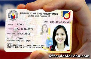菲律宾身份证样本,高清图