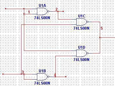 关于数字电子技术的问题请问如何把74ls00与非门接成74ls86异或