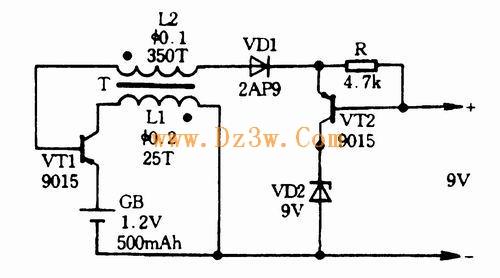 自制10w逆变器电路图