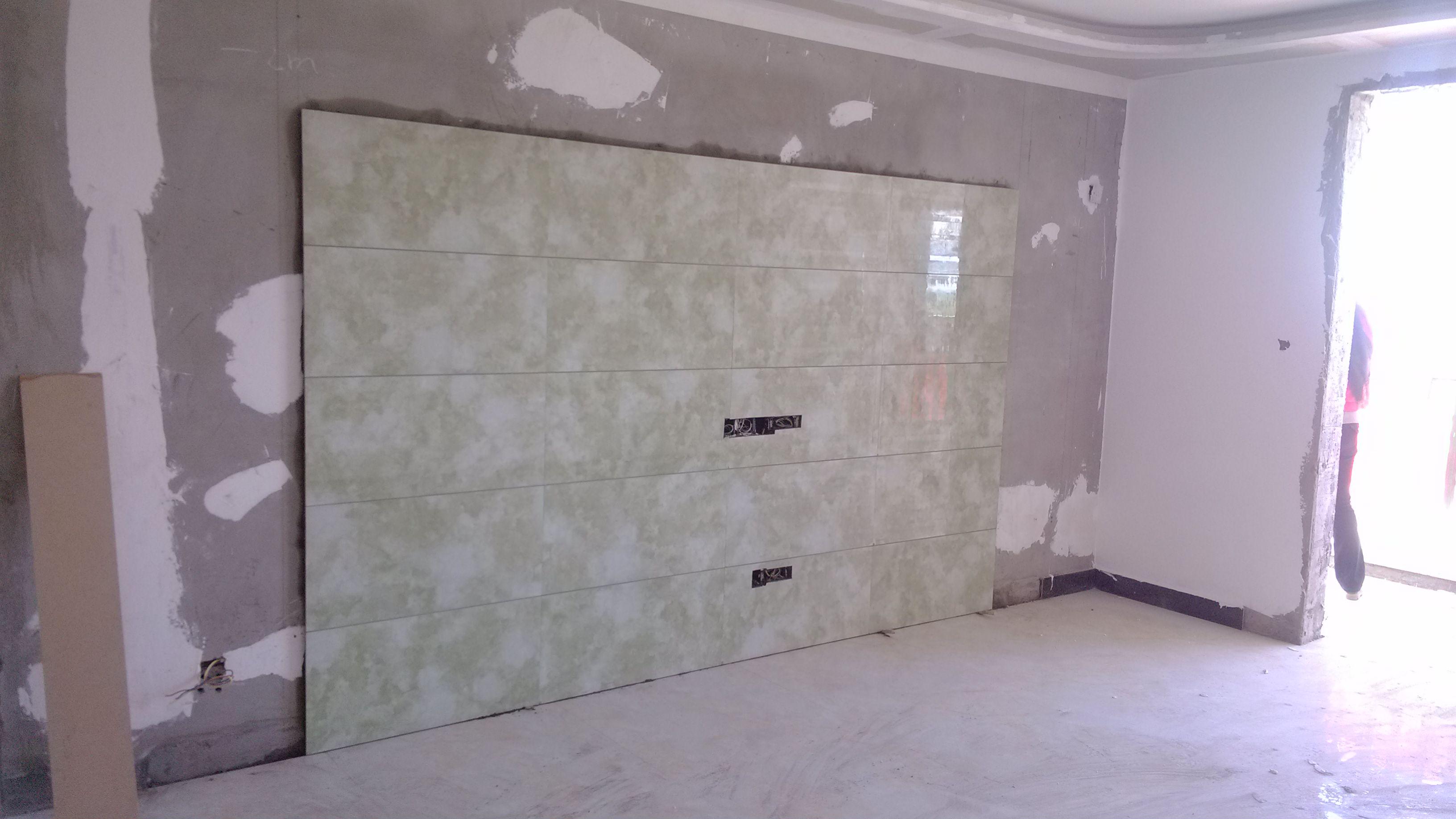 瓷砖背景墙 设计 收边 边框