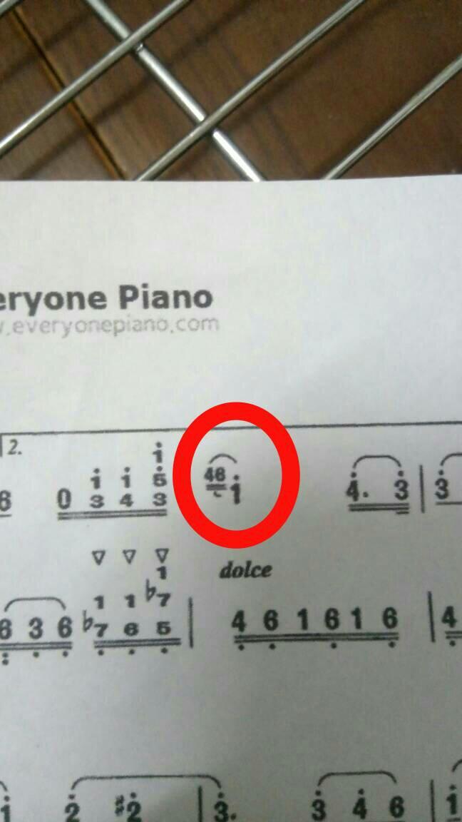 钢琴简谱 弹奏