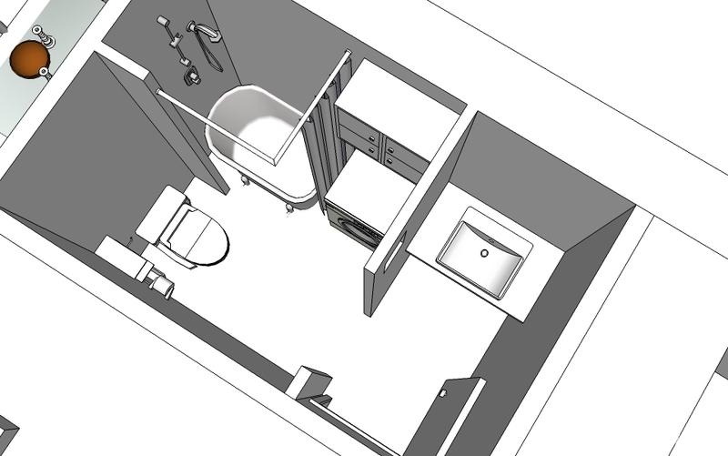 3平米卫生间装修和布局设计图正方形小储物间怎么设计图图片