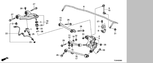 学称:后拉杆(下肢臂,上支臂,平衡杆球头,方向机外球头,内球头)图片