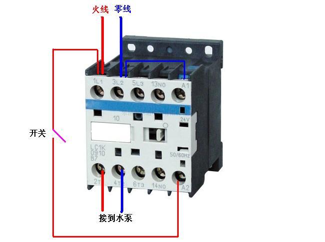 cjx2交流接触器接线问题(加分题)