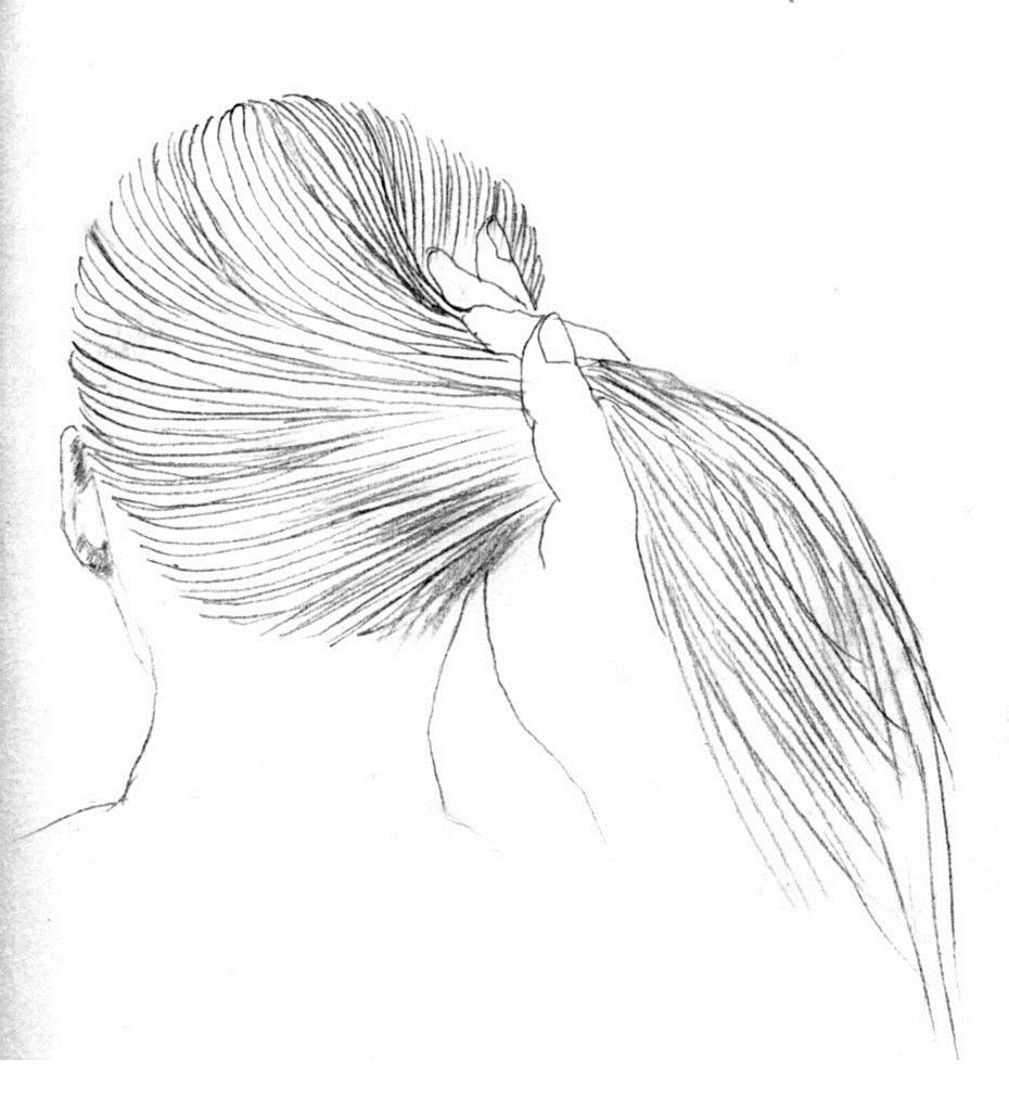 怎么绘画发型图?