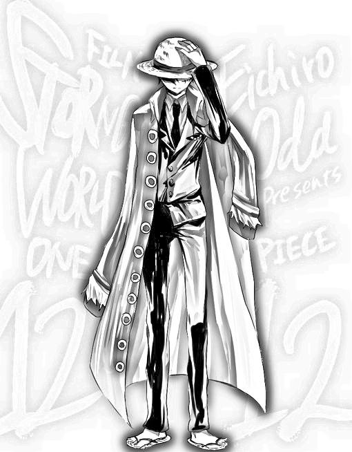 黑白手绘骷髅画霸气
