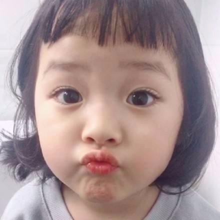 韩国嘟嘴小孩头像