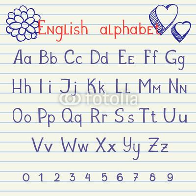 小学英语字母的书写规范