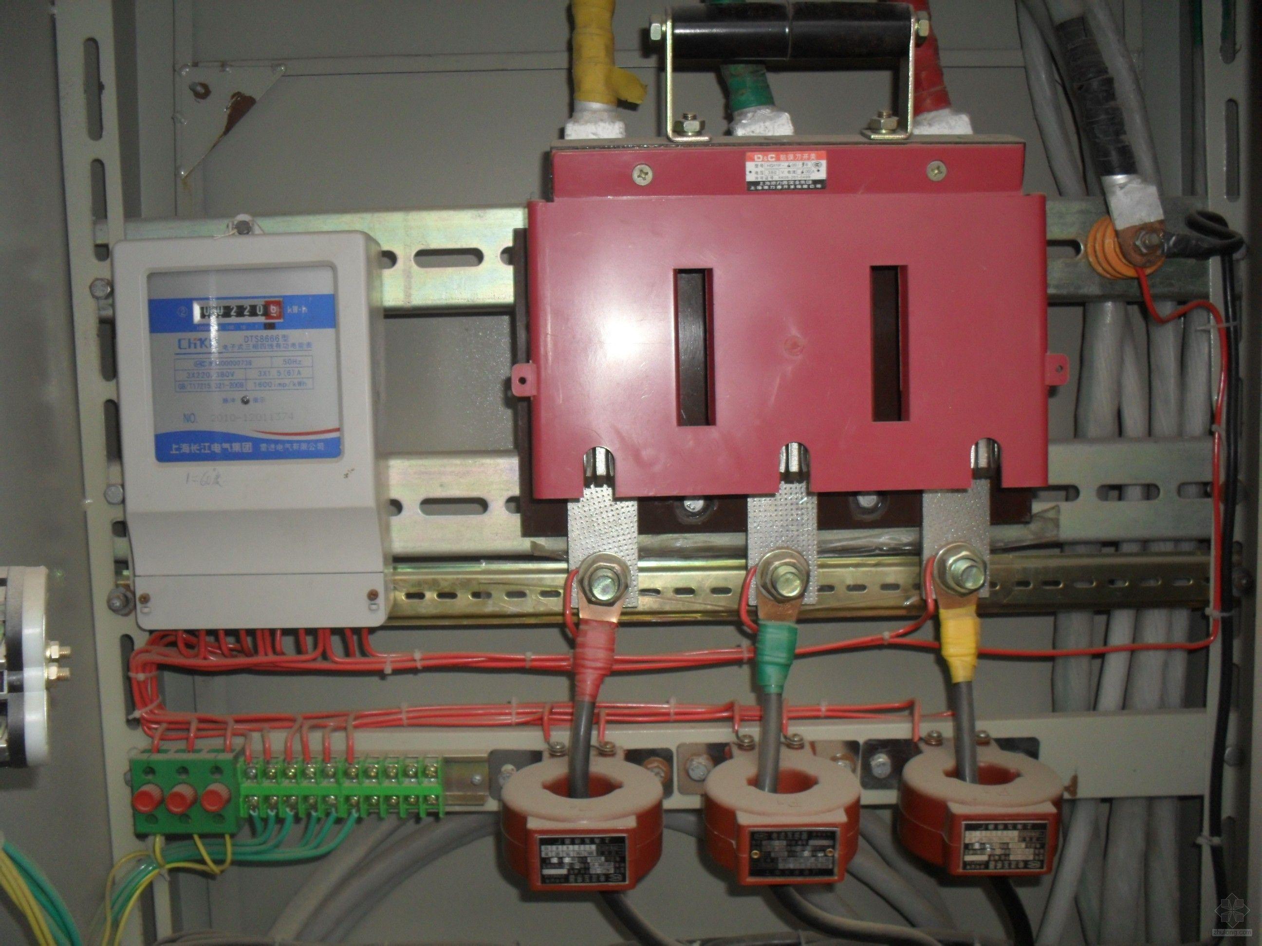 电流互感器的接线方式如下