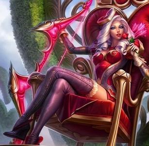 求一张艾希的女皇皮肤的弓箭图.是弓箭图.弓箭要全