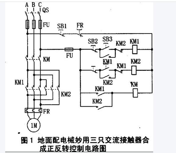 设计一个控制电路,控制电动机.要求1,可正反转2,可点3