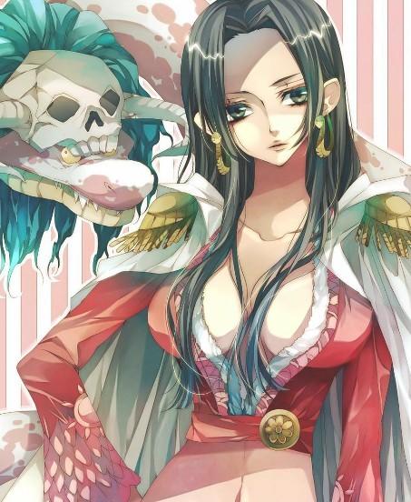 求海贼王女帝的图片