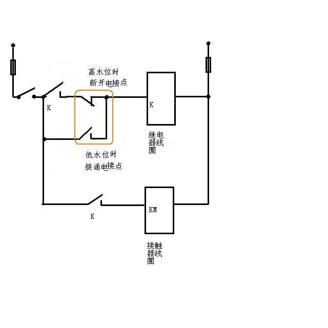 水泵控制电路图