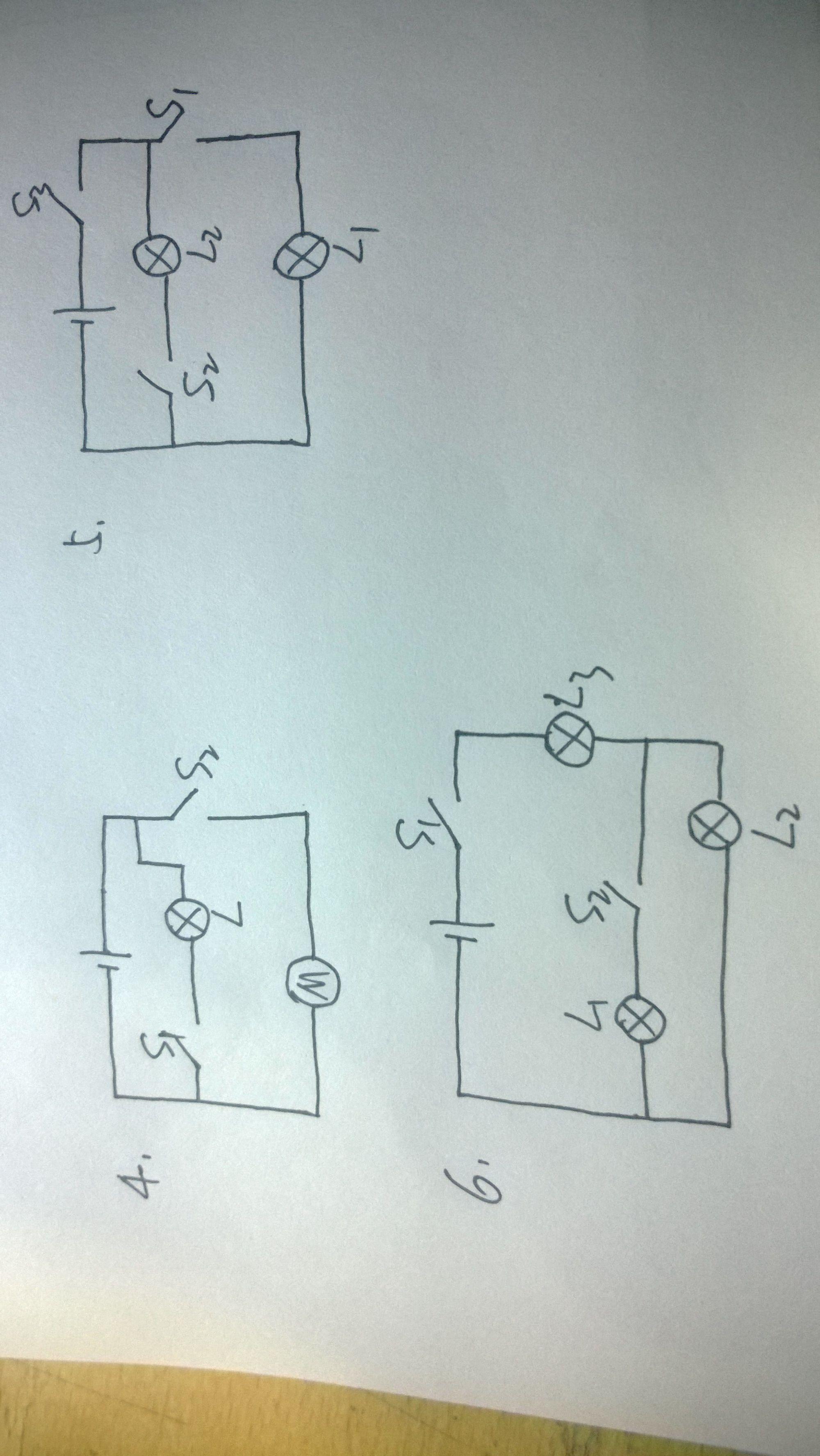 物理电路图怎么画
