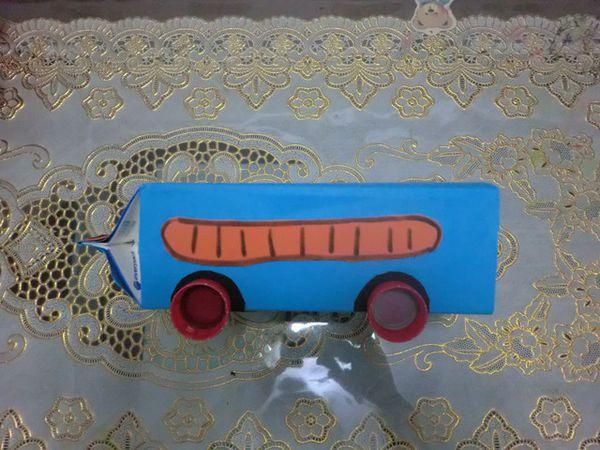 如何diy小学生小汽车手工制作方法图解