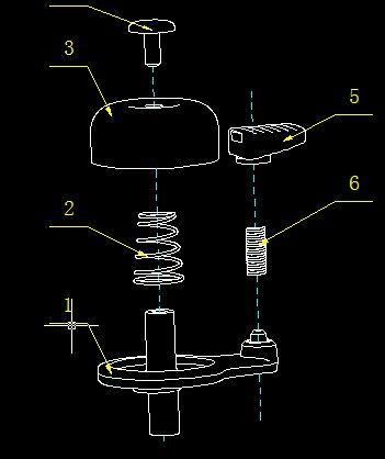 自行车铃铛内部结构