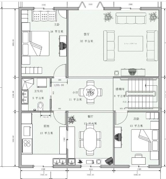 谁有这套房屋设计图啊有的发925329674 这图类型的也行啊.求求啦 急啊图片