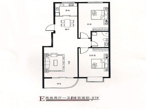 求高人设计指点,80平方两室一厅改三室一厅,最好有改装图