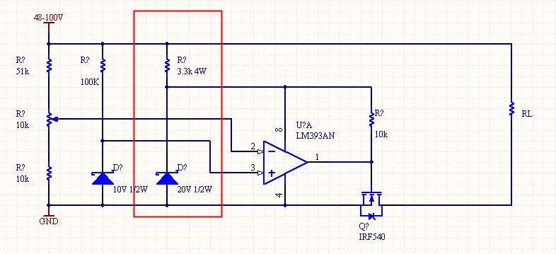 7818稳压管扩流电路图
