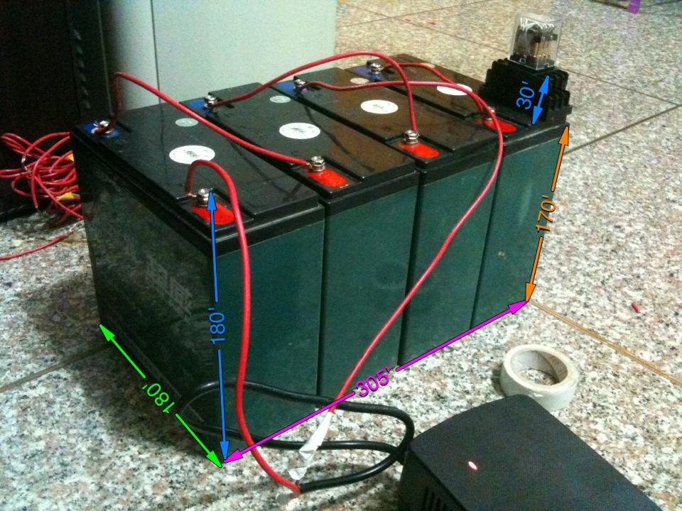 让4节12v电池串联充电(48v充电),并联放电(12v放电)求稳定设计电路图.
