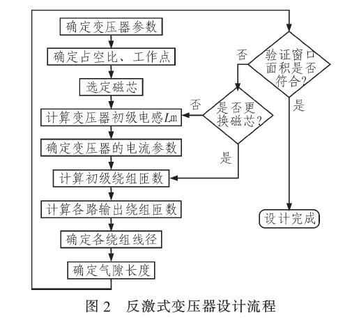 反激式开关电源的变压器计算公式