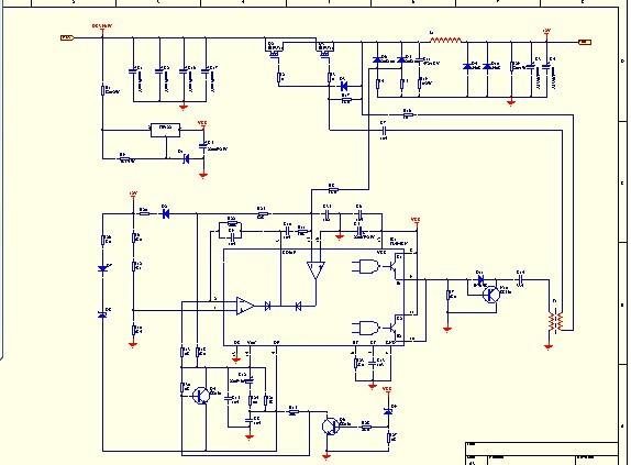 求 电动汽车用 60v转12v dc_dc转换器 电路图