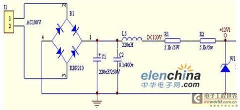 稳压管稳压电路如图所示,计算保证负载开路时,稳压管电流不过载,电阻