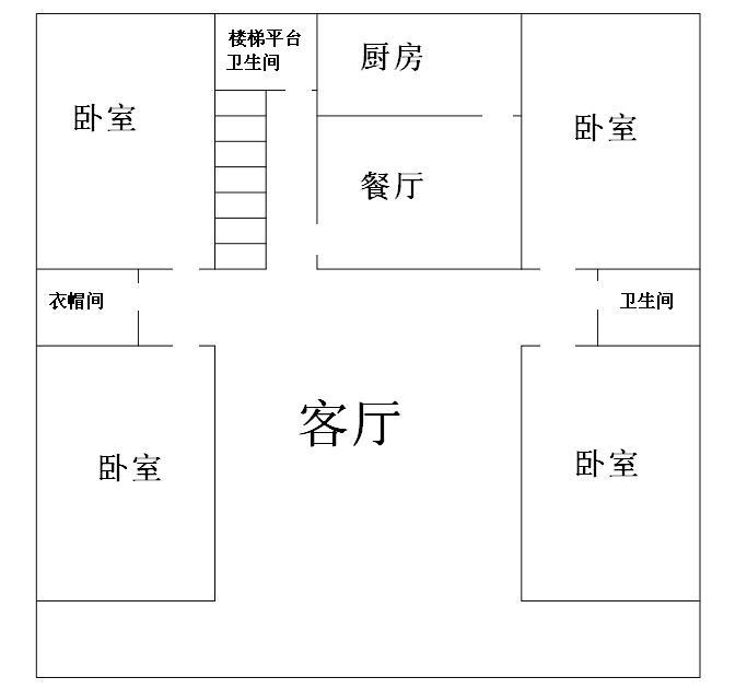 求房屋平面设计图