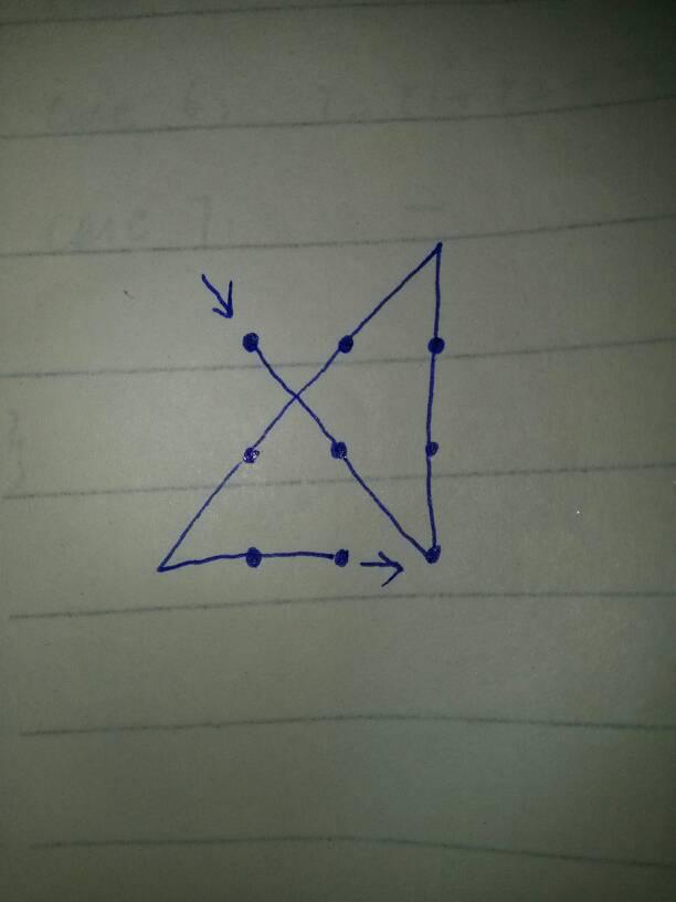 如何一笔画出九宫格(不是一笔连接9个点)图片