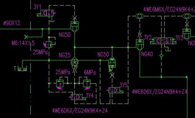 四柱液压机的高速是怎样得到的?图片
