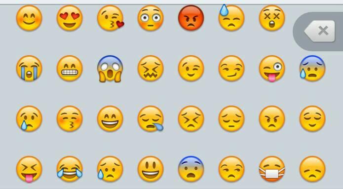 这些表情什么意思?