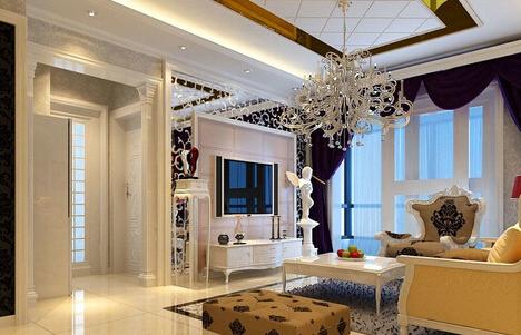 109平米三室一厅装修效果图5万泰
