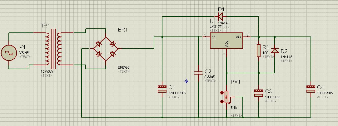 可调式直流稳压电源 问:为什么不能将220v的交流转换为1.25-37v的直流