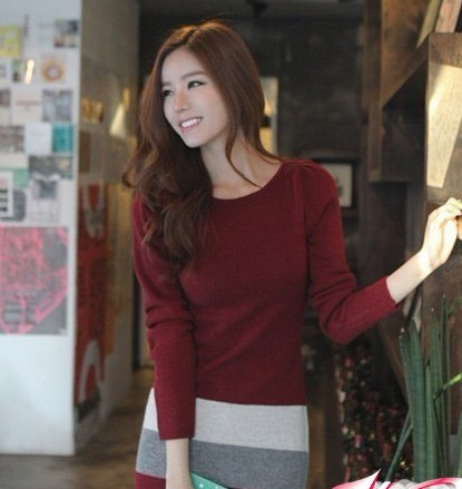 想知道瑞丽杂志上这个韩国模特叫什么,网店是什么_