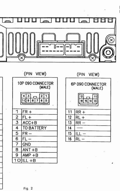 求丰田cd机接线图