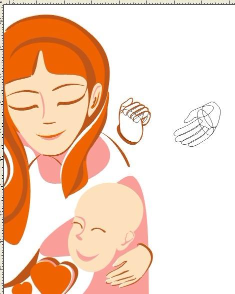 画一个女孩子的背面怎么画