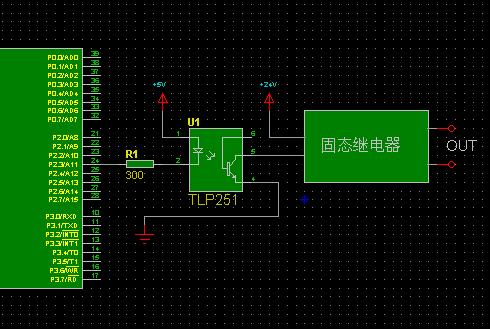一般固态继电器上有接线图. 追问 你这个电路你用过么?