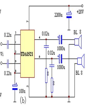 tda1521电路原理分析