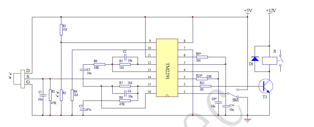 亚洲人体热�_能给个biss0001的热释电人体感应电路吗?