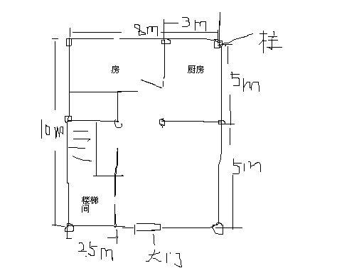 求房屋装修设计草图