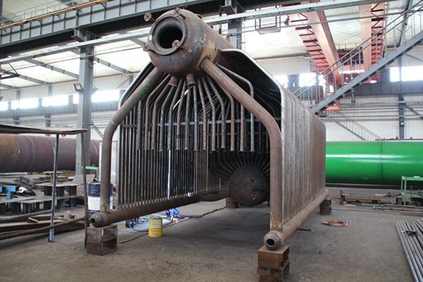 热水锅炉锅筒内部结构是什么?
