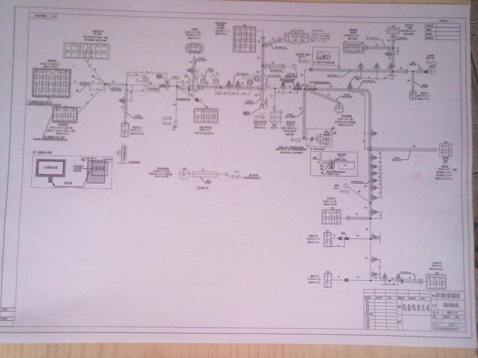 东风小康k02汽车空调线路图